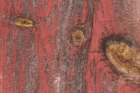 barnwood: red painted woodboard texture Stock Photo