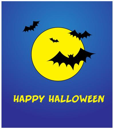 Happy Halloween Template Vector