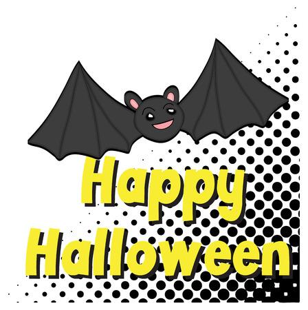 Happy Halloween Graphic Design Vector