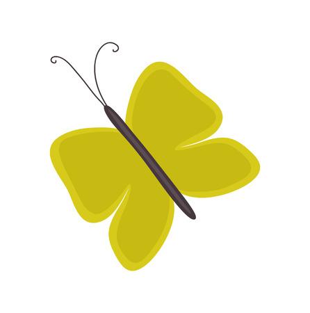 tekening vlinder: Butterfly Drawing Art Stock Illustratie
