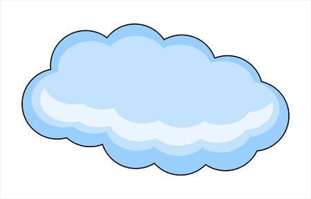 Weather Cloud Vector