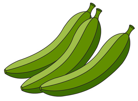 shake off: Green Bananas