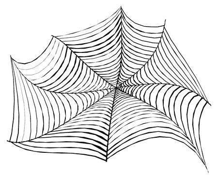spider web: Creative Halloween Spider Web