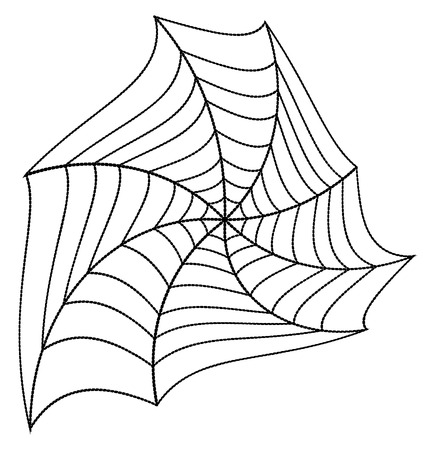 spinnennetz: Cobweb Design-Elemente Illustration
