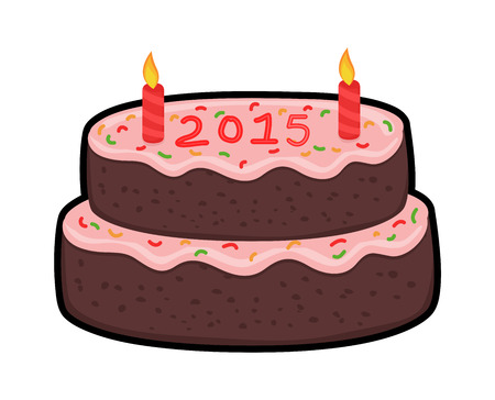 valentine          s day candy: Happy New Year Cake