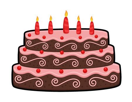layer: Three Layer Anniversary Cake