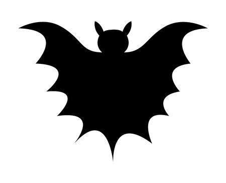 Bat Shape Vector Vector