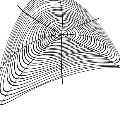 spinnennetz: Cobweb Design Illustration