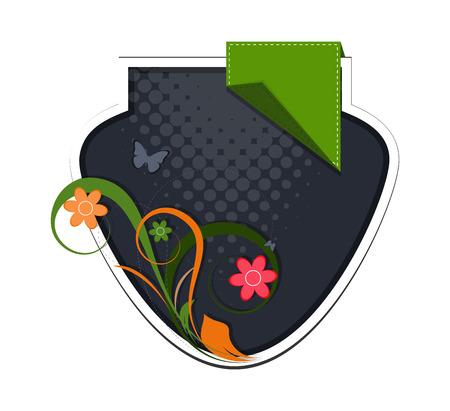 flourish frame: Flourish Frame Design