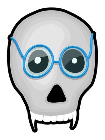 specs: Scary Skull with Specs