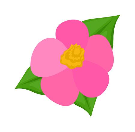 flower art: Pink Flower Art