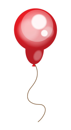 red balloon: Bright Red Balloon