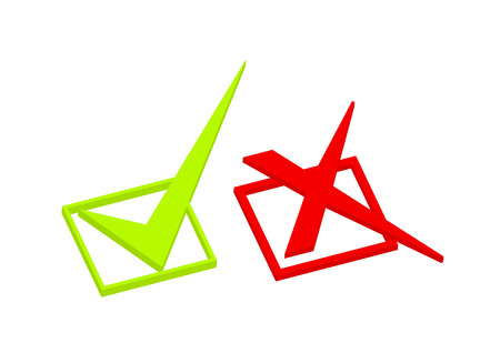 qualified: Right and Wrong Symbols