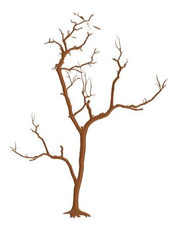 arbre mort: Halloween Dead Tree Horrible