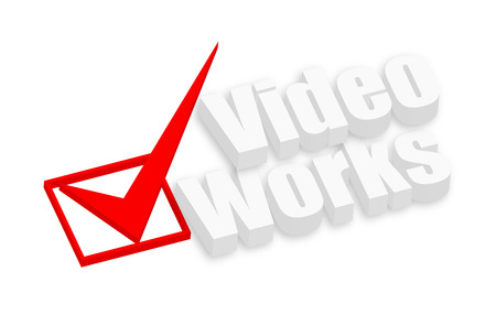 works: Video Works 3d Text Banner