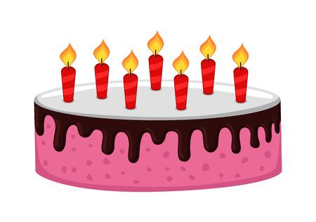 chocolaty: Chocolaty Cake with Candles