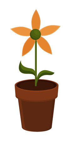 plant pot: Flower Pot Illustration