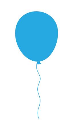 Balloon Flying Illustration
