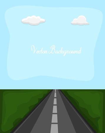 고속도로: Highway Road Background