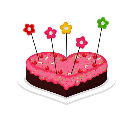 valentine          s day candy: Valentines Day Cake