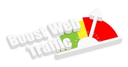 coup de pouce: Boost Web Traffic Meter