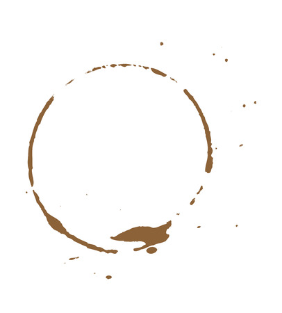 dirty: Dirty Brown Coffee Stain