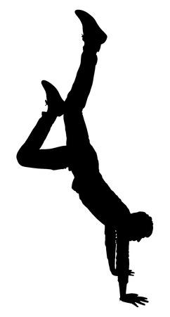 stunt: Stunt Boy Silhouette