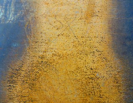 Rusty Metallic Texture Background photo