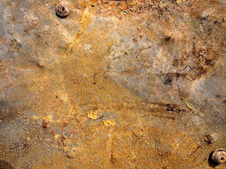 Rusty Metal Surface Texture photo