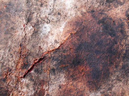 decayed: Ragged Wall Surface