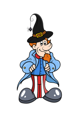 sam: Uncle Sam with Witch Hat