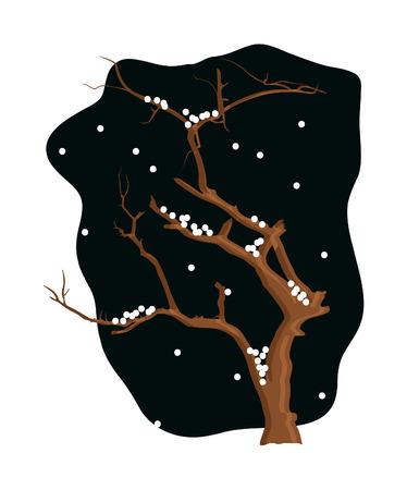 arbre mort: Winter Dead Tree