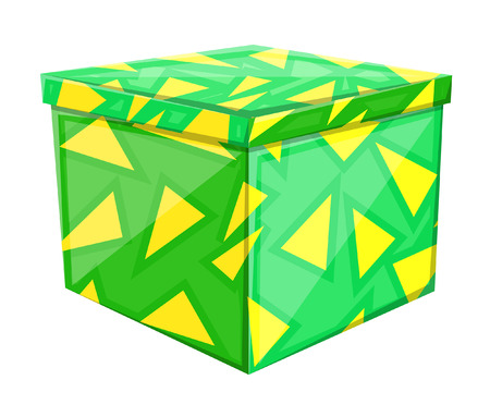 festive occasions: Abstract Gift Box Illustration