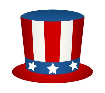 sam: Uncle Sam Hat Vector