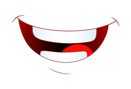 Laughing Cartoon Mouth