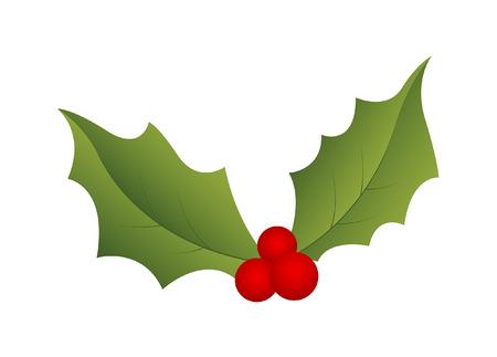 holy leaves: Christmas Holy Leaf