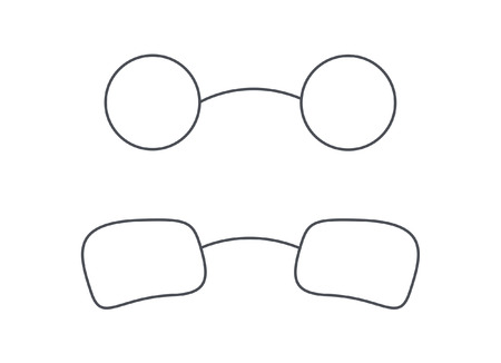eyewear: Eyewear Specs Frames Vectors