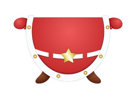 santa claus costume: Santa Claus Costume Vector Illustration