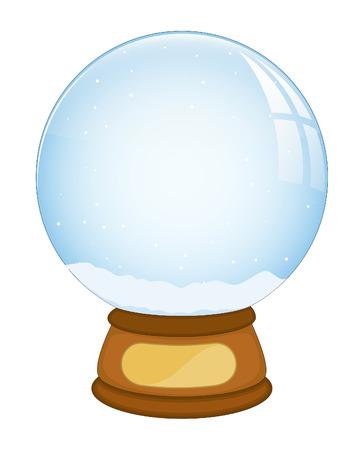 boule de neige: No�l Snowball Vecteur