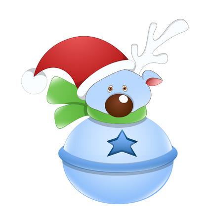 Cute Snowman Vector Character