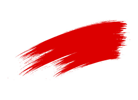 Grunge Brush Stroke Banner Illusztráció