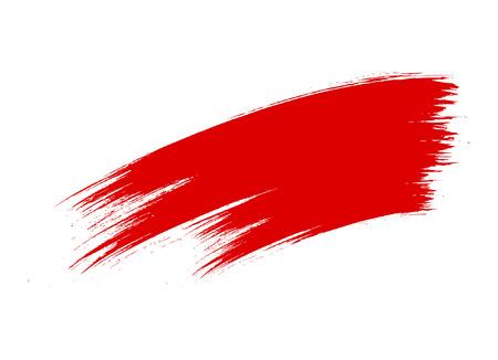 Grunge Brush Stroke Banner Vettoriali
