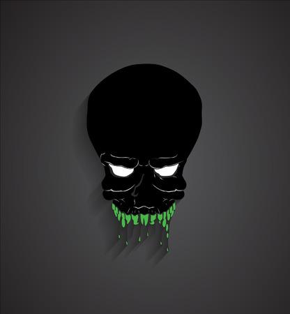 ghost face: Spooky Halloween Ghost Viso