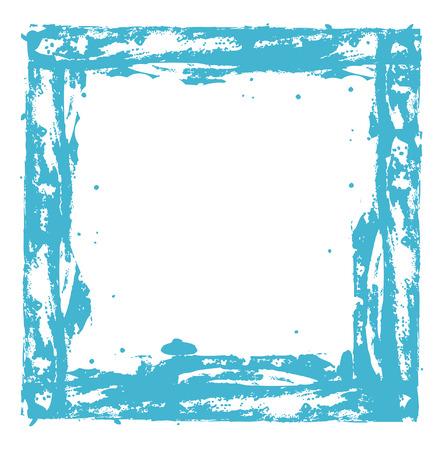 to scatter: Scatter Grunge Frame Design