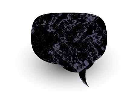 rough: Rough Texture Chat Bubble