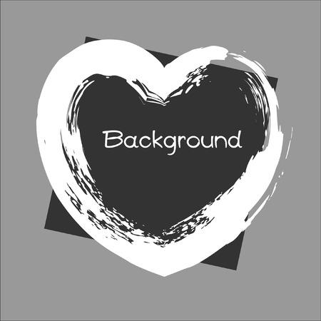 grunge banner: Grunge Valentine Banner