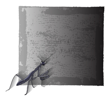 mosquitoes: Mosquitoes Grunge Banner Illustration