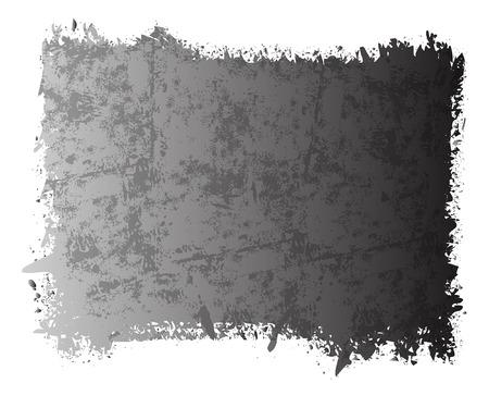 rozpraszać: Rusty Punktowy Grunge Banner Ilustracja