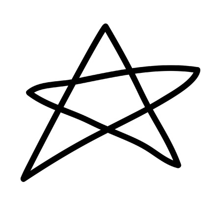 star clipart: Star Clipart Illustration