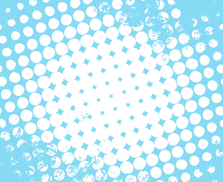 circle pattern: Halftone Grunge Background